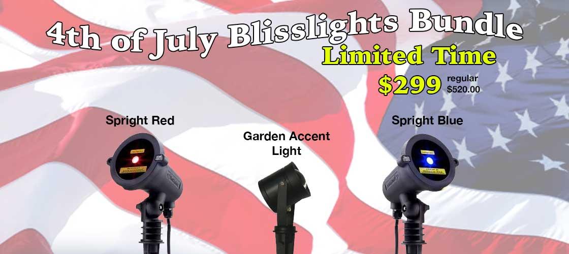 Blisslight Laser Light Show Bundle