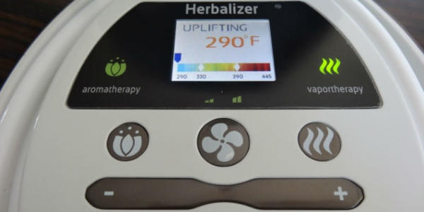 Herbalizer Vaporizer Controls