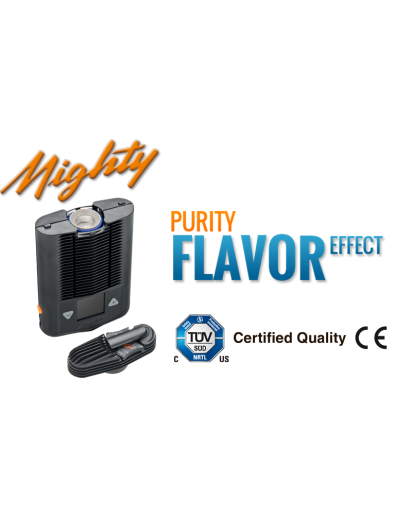 Mighty Vaporizer Full of Flavor On the Go