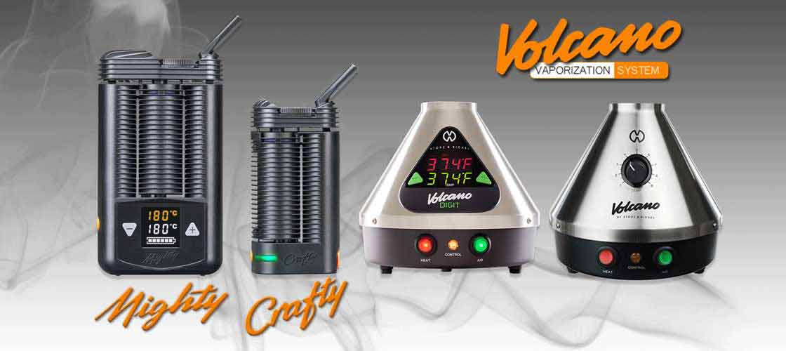 Volcano Vaporizer Crafty Mighty Vaporizers