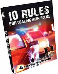 10 Rules for Dealing with Police - DVD