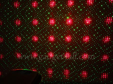 Mini Laser Twinkling Star - Red and Green Laser Projector