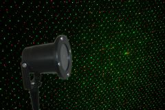 Outdoor Mini Firefly Laser Show System - Red and Green