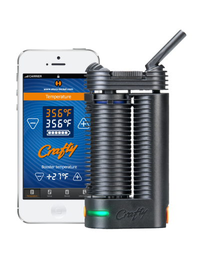 Crafty Vaporizer and Apple Iphone