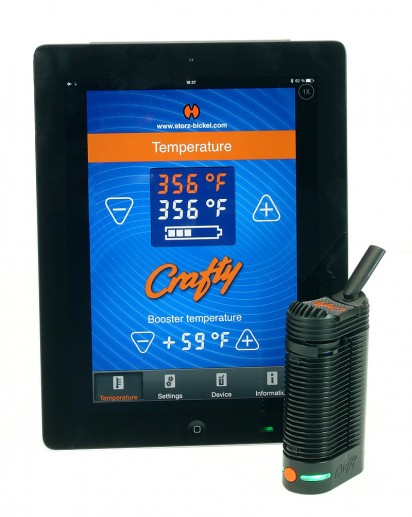 Crafty Vaporizer & Ipad