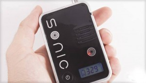 The Sonic Vaporizer in Hand