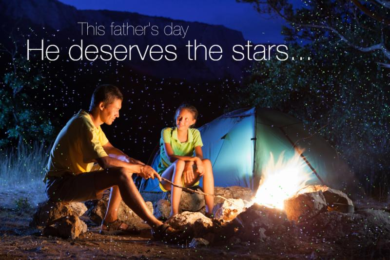 Father's Day Spright Laser Projector Offer